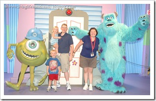 Monsters Inc at Hollywood STudios