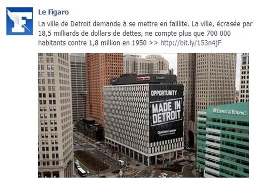 Detroit Le Figaro