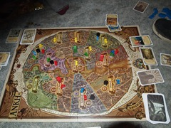Ankh-Morpork Gameboard, Game in Progress