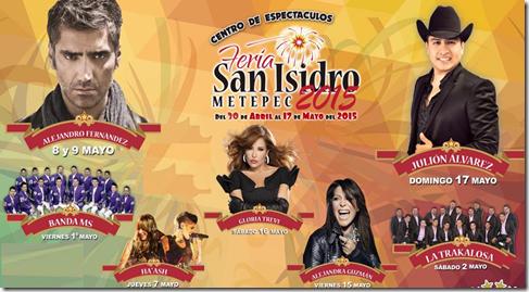 Palenque Feria san isidro Metepec 2015 Compra tus boletos en linea