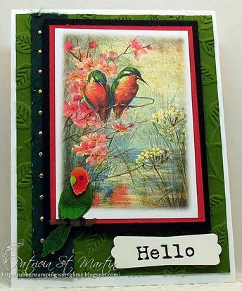 Birdie says Hello 2014