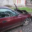 Avarii teinud sõiduk Antslas 2011