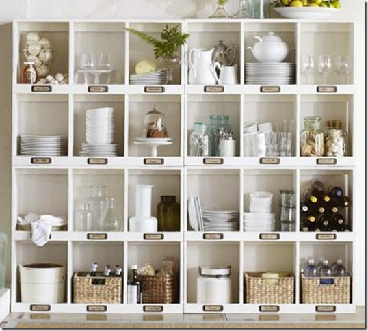 pottery barn cubbies for dining room