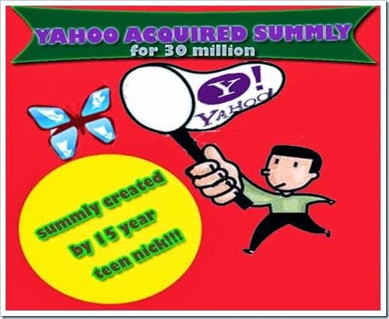 Yahoo Acquired Summly