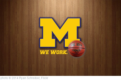 'Michigan Basketball2014wide' photo (c) 2014, Ryan Schreiber - license: https://creativecommons.org/licenses/by/2.0/