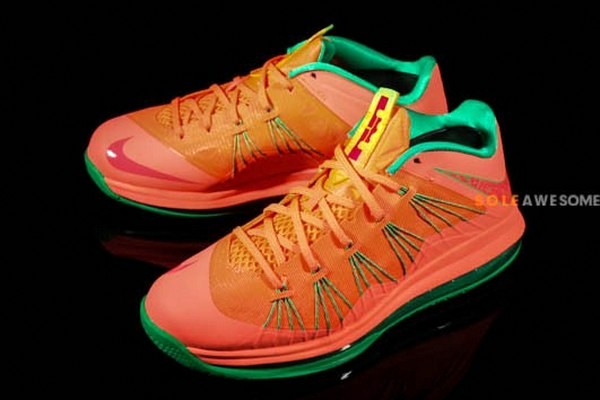 huge selection of 07d9f 7c87d Nike Air Max LeBron X Low Watermelon (579765-801)   NIKE LEBRON - LeBron  James Shoes