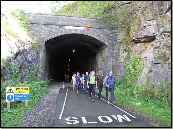 Exiting Litton Tunnel