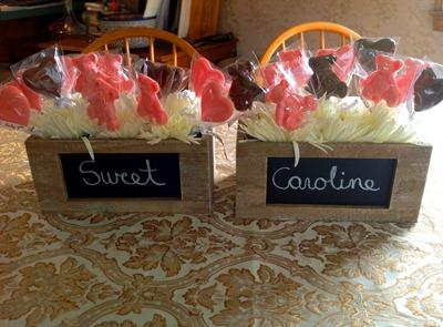 flowers for dessert table