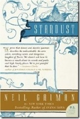 book cover of Stardust by Neil Gaiman