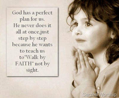 God Has a Perfect Plan For Us