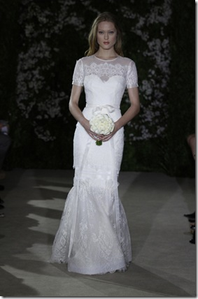 CAROLINA HERRERA BRIDAL SS12 NEW YORK 04/09/11