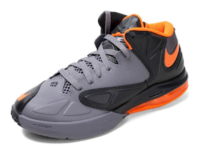nike air max ambassador 5 gr black grey orange 1 01 Nike Drops Matching Lava Colorway for Air Max Ambassador V