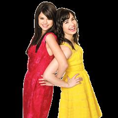 Selena Gomez  Demi Lovato selenademipng