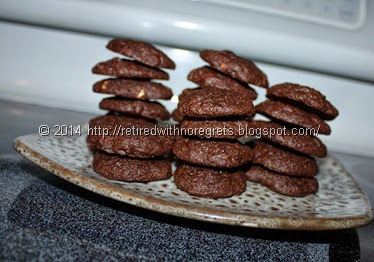 Peanut Butter Brownie Cookies - Gluten Free