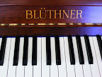 Bluthner 1930's rebuilt upright piano for sale