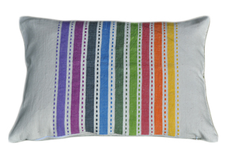 Rainbow pillow, rectangular feature.jpg