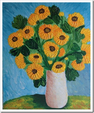 monets sunflowers adrienne harrington