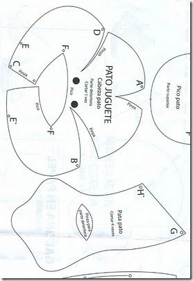 moldes pato 3