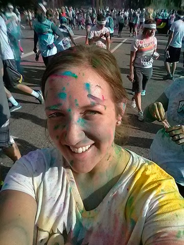 Color Run AFter Solo Pic