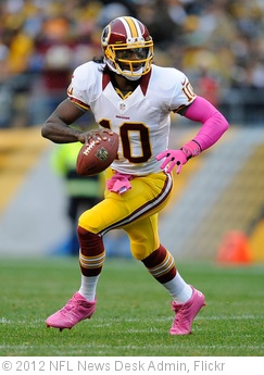 'robert-griffin-III-washington-redskins' photo (c) 2012, NFL News Desk Admin - license: http://creativecommons.org/licenses/by-nd/2.0/