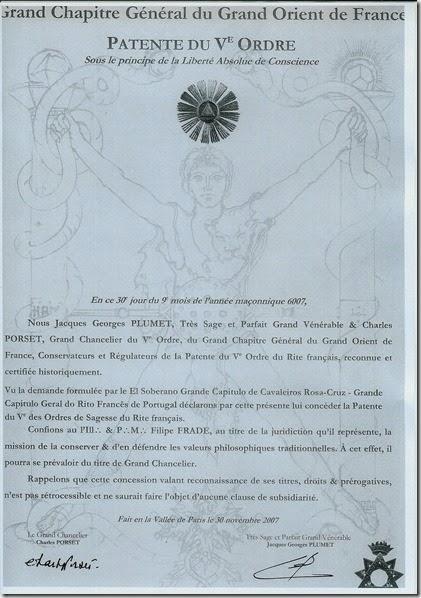 Patente 5ª Ordem