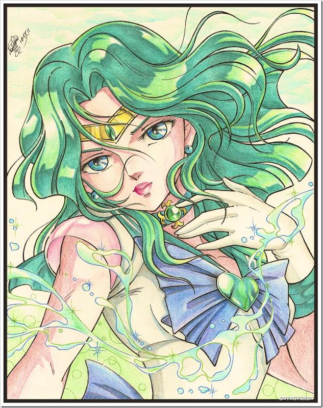 Sailor Neptuno - Saint Seiya Araki