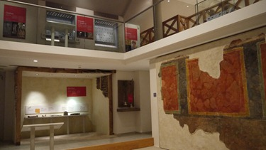 Inside the Museum in Cirencester