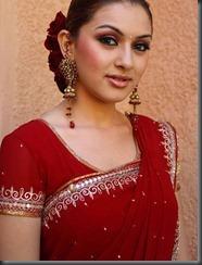 hansika-motwani___hot-in-red saree