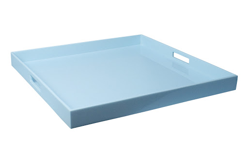The lacquer finish makes this tray très chic. (jonathanadler.com)