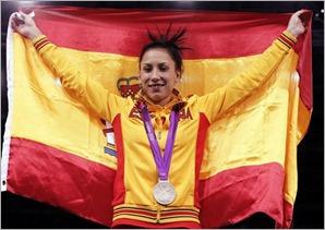 Brigitte Yagüe, medalla de plata en taekwondo