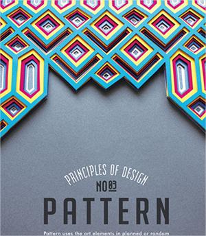 Principios del diseño en forma de posters