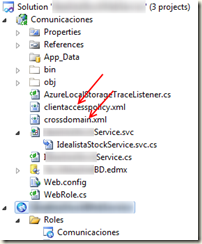 adding crossdomain.xml and clientaccesspolicy.xml to azure web role
