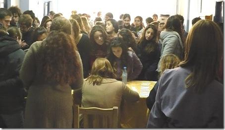 Jóvenes conmemoraron la Noche de los Lápices