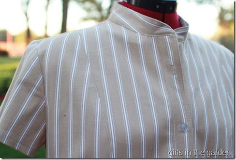 Simplicity 2447 tan collar