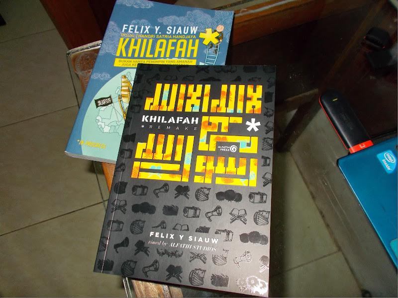 Buku Khilafah | foto by: Admin Pengetahuan Inspirasiku