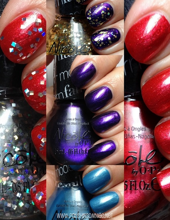 Nicole by OPI Modern Family Holday nail polish