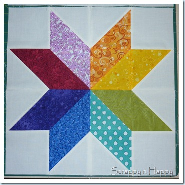 Colour wheel star 2