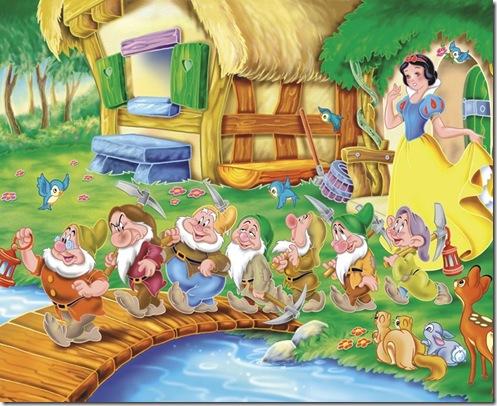 Blancanieves,Schneewittchen,Snow White and the Seven Dwarfs (3)