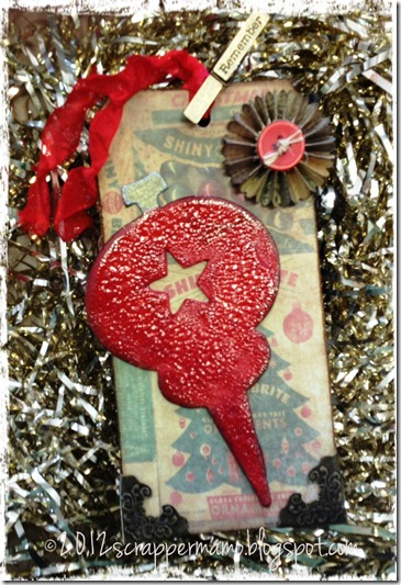 ornament tag w border