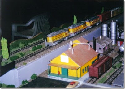07 LK&R Layout at the Triangle Mall in February 2000