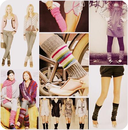 Polainas inspirações moda como usar