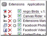 Gestire e avviare velocemente estensioni e applicazioni Chrome con Extensions Manager
