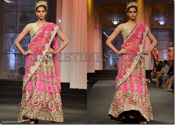 Vikram_Phadnis_Pink_Embroidery_Saree