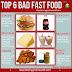 6 Bad fast foods