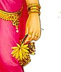 Sita holding flower