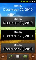 Screenshot of What's Today Calendar Widget
