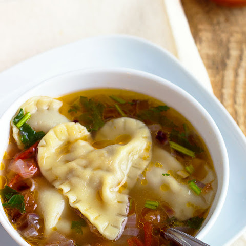 Heart-Warming Beef Dumpling Soup