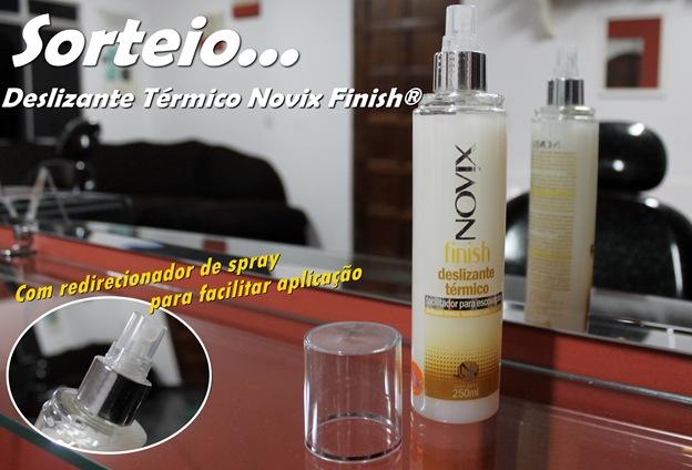 sorteio Deslizante Térmico Novix Finish®