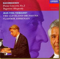 Rachmaninov Conciertos piano 2 Thibaudet Ashkenazy
