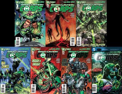 GreenLanternCorps-Vol.1-Content